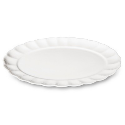 Gorham Willow Creek Bone China Serving Platter - White
