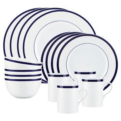Bistro by Gorham 16 Piece Dinnerware Set - Blue