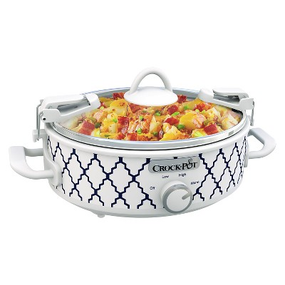 Crock-Pot® Casserole Crock™ 2.5 Qt. Oval Slow Cooker - SCCPCCM250-BT