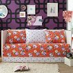 Pop Vintage 5 Piece Set - Orange (Daybed)