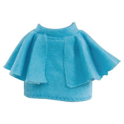blue peplum skirt target