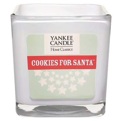 Yankee Candle Cookies for Santa Large Square Candle