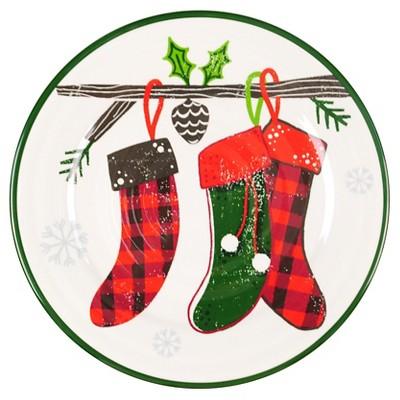 Threshold Dinner Plate - melamine stockings