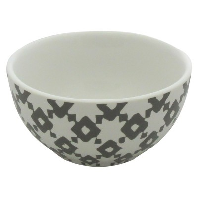 Threshold™ 1 piece mini bowl with decal - gray
