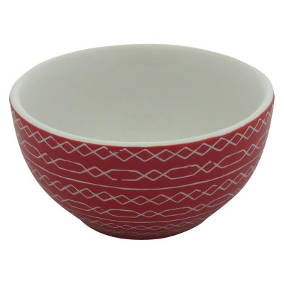Threshold™ 1 piece mini bowl with decal - red