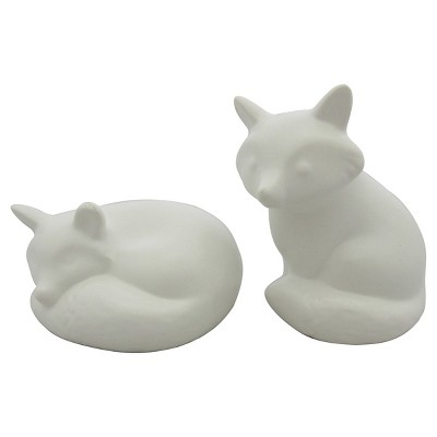 Threshold Salt & Pepper Shakers - white fox