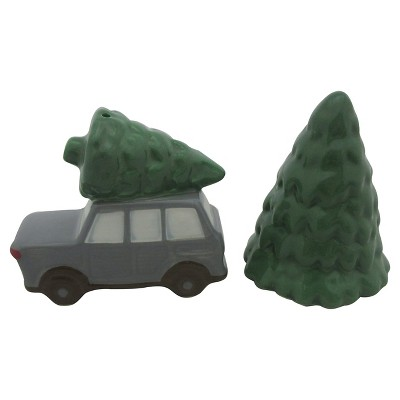 Threshold Salt & Pepper Shakers - color trees