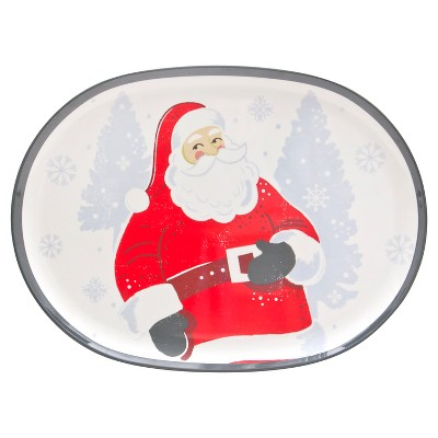Threshold™ Melamine Serve Platter - Santa