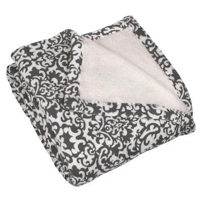 Waverly Pet Throw Duncan Sterling Pet Blanket - Heather Gray