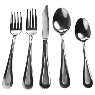 David Shaw Raindrops Sand 20 Piece Flatware Set