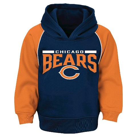 Chicago Bears Toddler/Infant Synthetic Hoodie