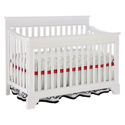 Broyhill Kids Messina 4-in-1 Convertible Crib - White
