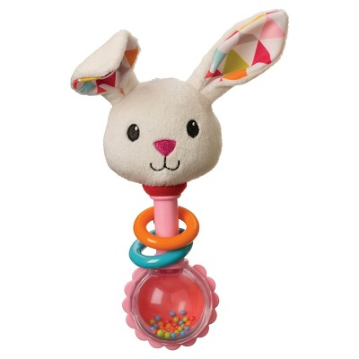 Infantino Go GaGa Rattle - Bunny