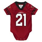 Arizona Cardinals Toddler/Infant Jersey Body Suit 0-3 M