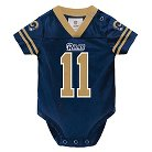 St. Louis Rams Toddler/Infant Jersey Body Suit 0-3 M