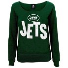 New York Jets Girls Open Neck Fleece S