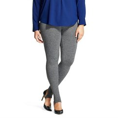 ASSETS® by Sara Blakely® Women's Seamless Leggings - Heather Gray