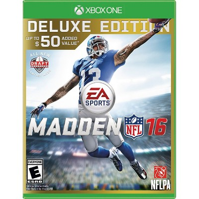 Madden NFL 16 Deluxe Edition (Xbox One)