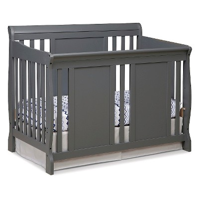Stork Craft Verona 4-in-1 Convertible Crib - Gray