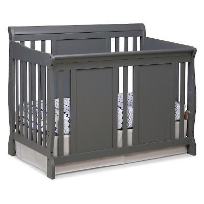 Stork Craft Verona 4-in-1 Convertible Crib - Gray