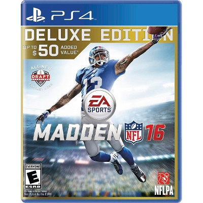 Madden NFL 16 Deluxe Edition (PlayStation 4)