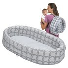 LulybooBaby Lounge To-Go Travel Bed - Grey