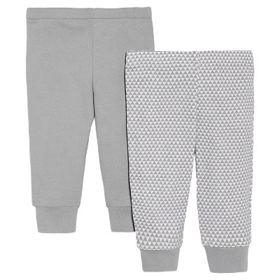 Skip Hop Newborn 2pk Pant - Grey 6 M