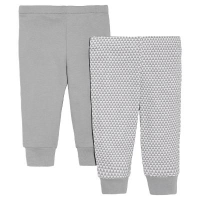 Skip Hop Newborn 2pk Pant - Grey NB