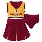 Washington Redskins Toddler/Infant Cheerleader 2T