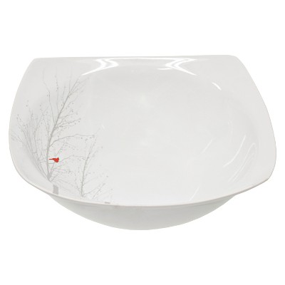 Ecom 1 Pc Serving Bowl 222 Fifth White Fine China