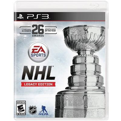 NHL Legacy Edition (PlayStation 3)