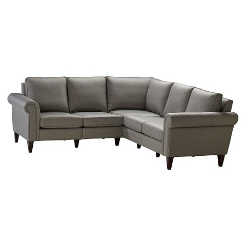 Avery 2 Corner Sectional Sofa Homeware Tar