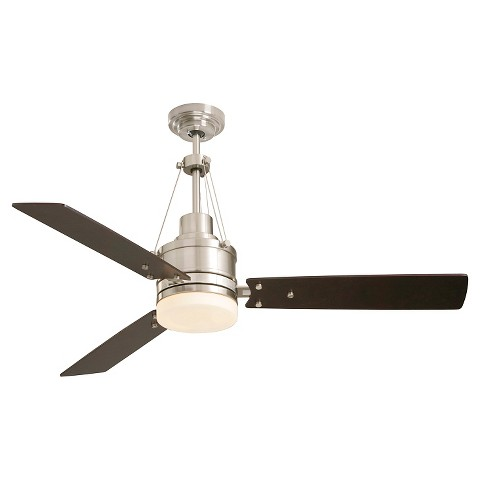 "Emerson Highpointe 54"" Ceiling Fan Steel Tar"
