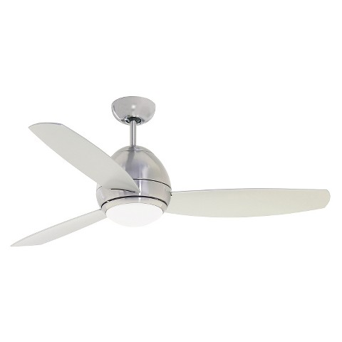 "Emerson Curva 52"" Ceiling Fan Steel Tar"