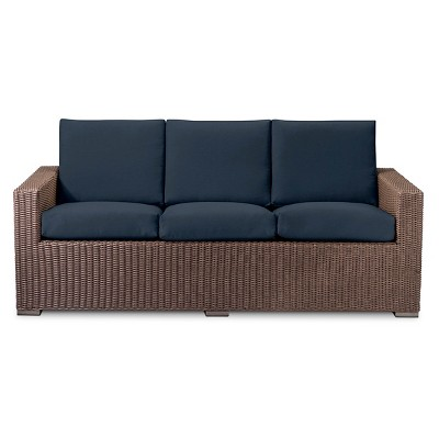 Heatherstone All Weather Wicker Sofa - Navy - Threshold™
