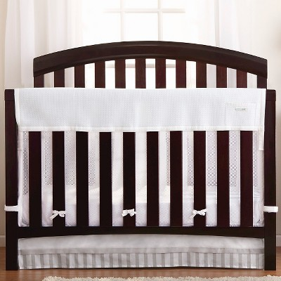 BreathableBaby® Mesh Rail Guard & Liner - White
