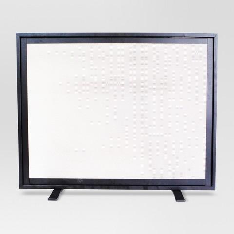 threshold flat panel large fireplace screen m target
