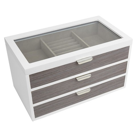 Jewelry box white umbra target for Terrace jewelry organizer by umbra