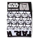 Men's Star Wars Strom Trooper Boxer Brief White L