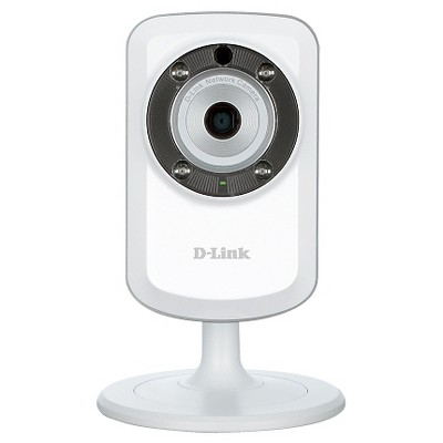 D-Link - Day and Night Wi-Fi Video Security Camera - White (DCS-933L)