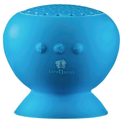 Life N Soul Bluetooth Water-Resistant Speaker - Blue