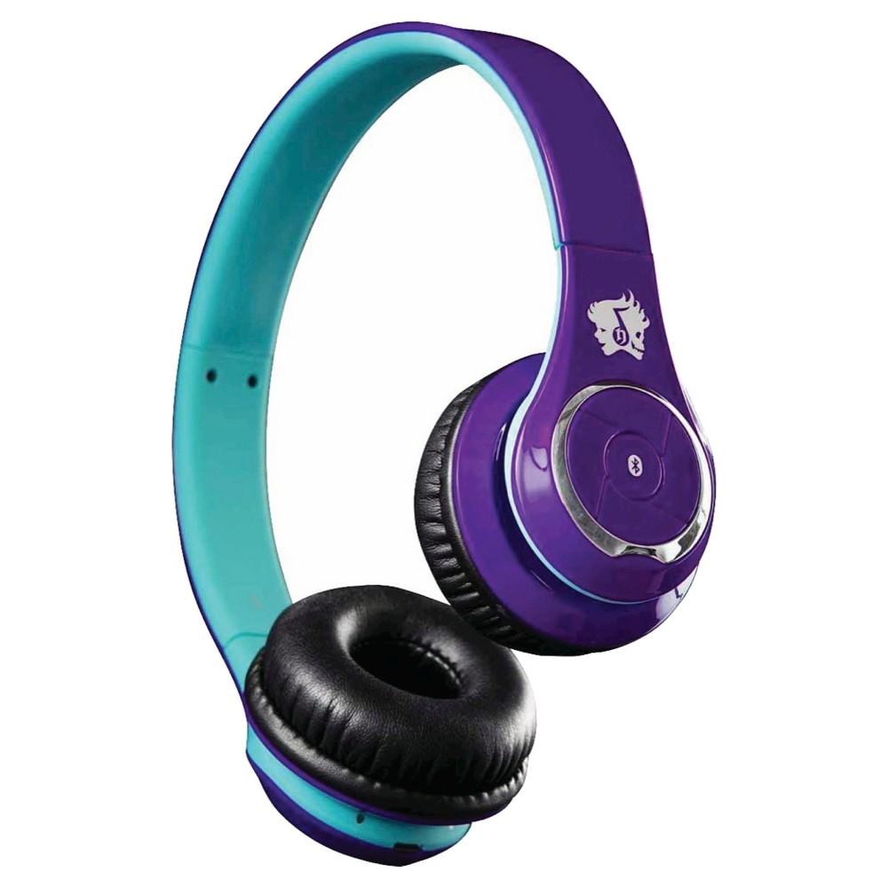 life n soul bluetooth headphones on ear controls purple blue vv2850. Black Bedroom Furniture Sets. Home Design Ideas