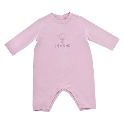 Chicco® Newborn Girls' Long-sleeve Coverall - PINK 0-3 M