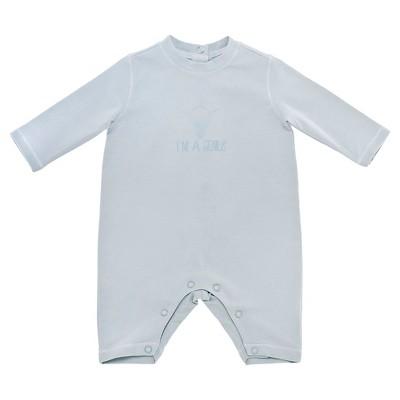 Chicco® Newborn Boys' Long-sleeve Coverall - BLUE 6-9 M