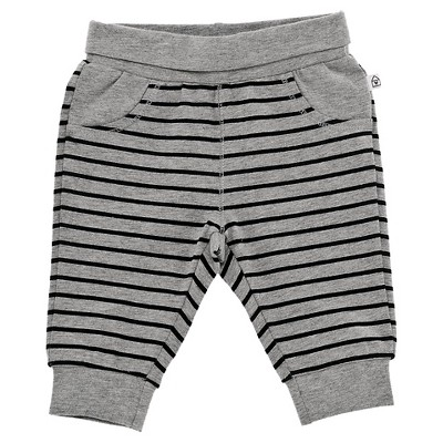 Chicco® Newborn Stripe Pant - Grey NB