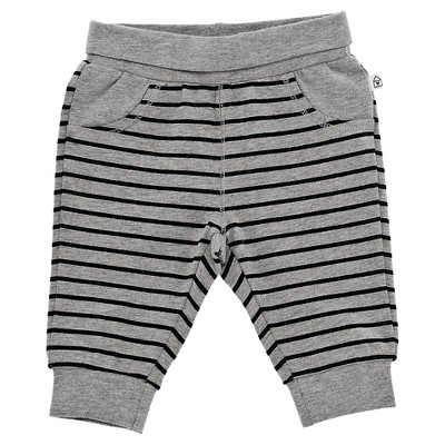 Chicco® Newborn Stripe Pant - Grey 6-9 M