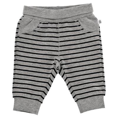Chicco® Newborn Stripe Pant - Grey 12 M