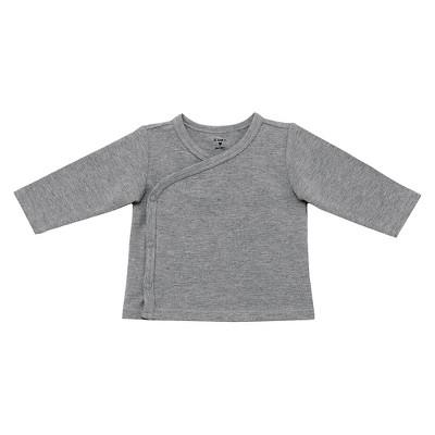 Gender Neutral Tee Shirts Grey 0-3 M