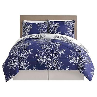 Comforter Set KING Navy