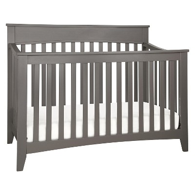 DaVinci Grove 4-in-1 Convertible Crib with Toddler Rail - Slate
